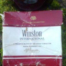 Paquetes de tabaco: ORIGINAL PRIMEROS 80´S - CAJETILLA DE TABACO- PAQUETE DE CIGARRILLOS WINSTON INTERNATIONAL. Lote 24461037