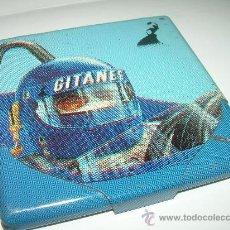 Paquetes de tabaco: BONITA PITILLERA DE HOJALATA LITOGRAFIADA.....GITANES.. Lote 26937883