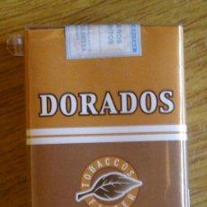 Paquetes de tabaco: CAJETILLA DISCONTINUA SOFT LLENA CIGARRILLOS DORADOS DE ARGENTINA. Lote 42323021