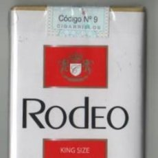 Paquetes de tabaco: CAJETILLA SOFT CIGARILLOS RODEO DE ARGENTINA LLENA. Lote 42323026