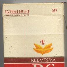 Paquetes de tabaco: PAQUETE TABACO * R6 * - CAJA CON 9 CIGARRILLOS. Lote 29708405