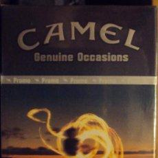Paquetes de tabaco: CAJETILLA CAMEL BOX 20 DE ARGENTINA EDICION LIMITADA. Lote 53822970