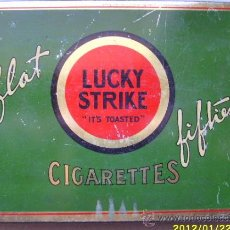 Paquetes de tabaco: LUCKY STRIKE. Lote 30246725