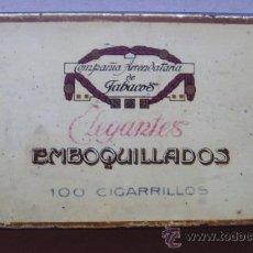 Paquetes de tabaco: ELEGANTES EMBOQUILLADOS. Lote 30258228