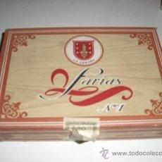 Paquetes de tabaco: ANTIGUA CAJA DE FARIAS Nº 1. Lote 188590058