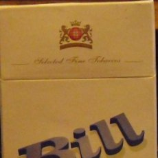 Paquetes de tabaco: CAJETILLA 20 CIGARRILLLOS BILL DE PARAGUAY FULL. Lote 42310505