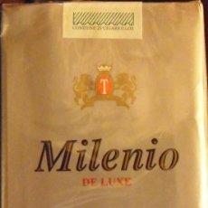 Paquetes de tabaco: CAJETILLA 20 CIGARILLOS MILENIO O DE URUGUAY. Lote 42323164