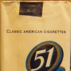Paquetes de tabaco: CAJETILLA SOFT 20CIGARILLOS 51 DE PARAGUAY. Lote 42322982