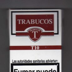 Maços de tabaco: CAJETILLA VACÍA DE TRABUCOS 10 CIGARROS. Lote 31034849