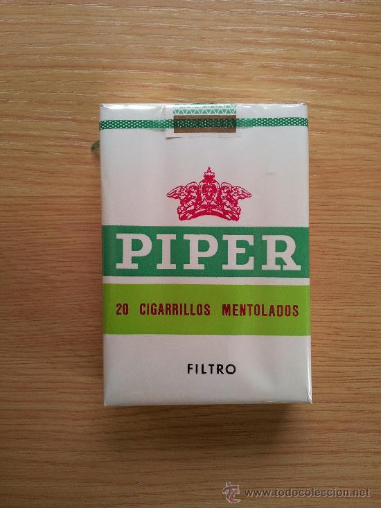 Antiguo paquete de tabaco piper, sin abrir, de - Vendido en Venta Directa -  41636574