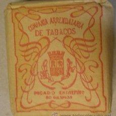 Paquetes de tabaco: PAQUETE DE 50 GRAMOS DE PICADURA DE TABACO. CON ESCUDO REPUBLICANO, COMPAÑÍA ARRENDATARIA DE TABACOS. Lote 31726008