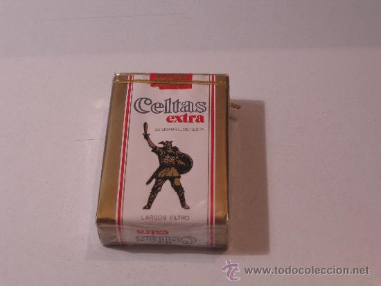 PAQUETE TABACO CELTAS EXTRA LARGO FILTRO (Coleccionismo - Objetos para Fumar - Paquetes de tabaco)