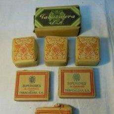 Paquetes de tabaco: LOTE PICADURA Y CIGARRILLOS DE TABACALERA. Lote 34075958