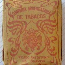 Paquetes de tabaco: ANTIGUO PAQUETE DE TABACO- 25 GRS.. Lote 34999517