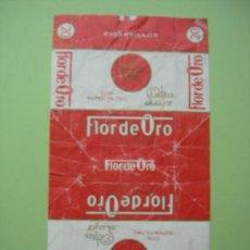 Paquetes de tabaco: CAJETILLA DE CIGARRILLOS. FLOR DE ORO . Lote 35781608