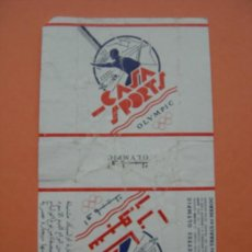 Paquetes de tabaco: CAJETILLA DE CIGARRILLOS. CASA SPORTS. Lote 35781775