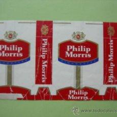 Paquetes de tabaco: CAJETILLA DE CIGARRILLOS . PHILIP MORRIS . Lote 35794799