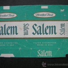 Paquetes de tabaco: CAJETILLA DE CIGARRILLOS. SALEM. Lote 35809008