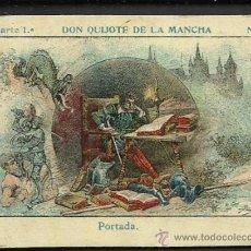 Paquetes de tabaco: DON QUIJOTE DE LA MANCHA - COL. COMPL. 100 CR. -EL PERU FAB. CIGARRILLOS - VER FOTOS ADIC.-(CR-135). Lote 35860170