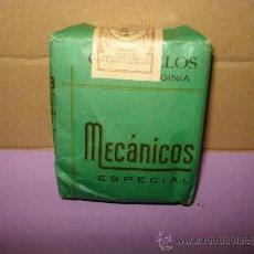 Paquetes de tabaco: ANTIGUO PAQUETE DE TABACO SIN ABRIR ** MECÁNICOS ** DE REGENTA ROBERTO DOS SANTOS LAS PALMAS. Lote 36099139