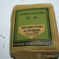 Paquetes de tabaco: ANTIGUO PAQUETE DE TABACO. Lote 36144899