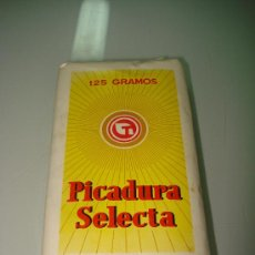 Maços de tabaco: ANTIGUO CUARTERÓN PICADURA SELECTA 125 GRAMOS DE TABACALERA S.A. . Lote 36450456