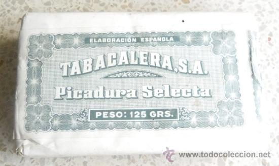 Paquetes de tabaco: PAQUETE DE TABACO - PICADURA SELECTA DE TABACALERA SA 125 GRAMOS - Foto 7 - 36837308