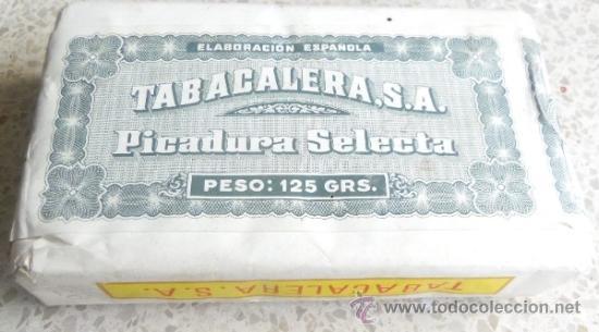 Paquetes de tabaco: PAQUETE DE TABACO - PICADURA SELECTA DE TABACALERA SA 125 GRAMOS - Foto 5 - 36837308