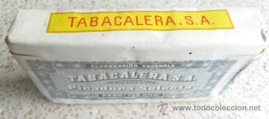 Paquetes de tabaco: PAQUETE DE TABACO - PICADURA SELECTA DE TABACALERA SA 125 GRAMOS - Foto 2 - 36837308