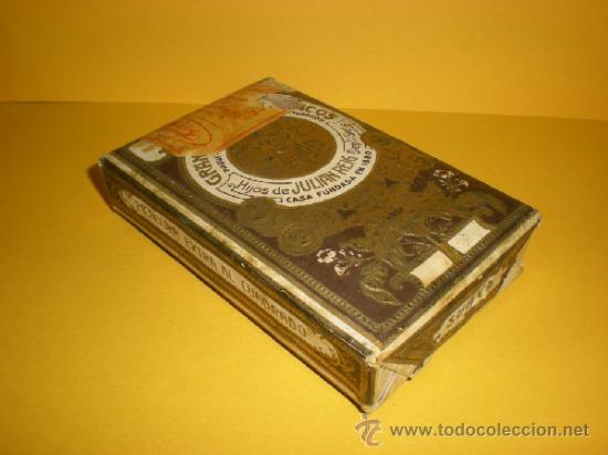 Paquetes de tabaco: Antiguo Paquete de Picadura Extra al Cuadrado LA NUEVA HABANA Gran Fabrica de Tabacos de Julian Reig - Foto 4 - 37209387