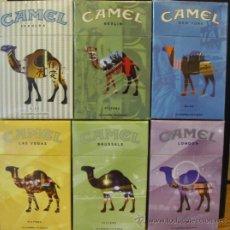 Paquetes de tabaco: 6 CAJETILLAS CERRADAS DE CAMEL EDICION LIMITADA DE ARGENTINA. Lote 44275956