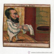 Paquetes de tabaco: MARQUILLA.VISTA.BOFETON DE TABACO SIGLO XIX 1865 CUBA. Lote 39047548