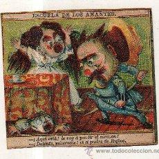 Paquetes de tabaco: MARQUILLA.VISTA.BOFETON DE TABACO SIGLO XIX 1865 CUBA. Lote 39047658