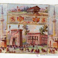 Paquetes de tabaco: MARQUILLA.VISTA.BOFETON DE TABACO SIGLO XIX 1865 CUBA. Lote 39047933