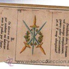 Paquetes de tabaco: MARQUILLA.VISTA.BOFETON DE TABACO SIGLO XIX 1865 CUBA. Lote 39059877