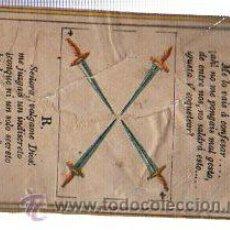 Paquetes de tabaco: MARQUILLA.VISTA.BOFETON DE TABACO SIGLO XIX 1865 CUBA. Lote 39059892