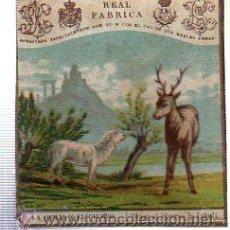 Paquetes de tabaco: MARQUILLA.VISTA.BOFETON DE TABACO SIGLO XIX 1865 CUBA. Lote 39061444
