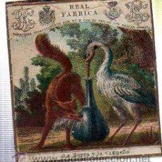 Paquetes de tabaco: MARQUILLA.VISTA.BOFETON DE TABACO SIGLO XIX 1865 CUBA. Lote 39061459