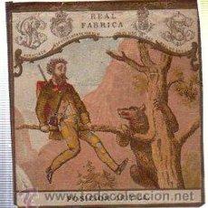 Paquetes de tabaco: MARQUILLA.VISTA.BOFETON DE TABACO SIGLO XIX 1865 CUBA. Lote 39061489