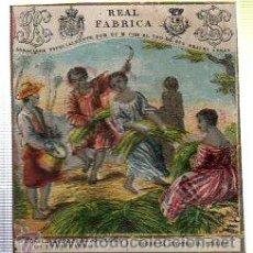 Paquetes de tabaco: MARQUILLA.VISTA.BOFETON DE TABACO SIGLO XIX 1865 CUBA. Lote 39061577