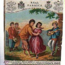 Paquetes de tabaco: MARQUILLA.VISTA.BOFETON DE TABACO SIGLO XIX 1865 CUBA. Lote 39061717
