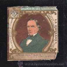 Maços de tabaco: MARQUILLA.VISTA.BOFETON DE TABACO SIGLO XIX 1865 CUBA. Lote 40390180