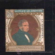 Maços de tabaco: MARQUILLA.VISTA.BOFETON DE TABACO SIGLO XIX 1865 CUBA. Lote 39078160