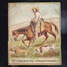 Paquetes de tabaco: MARQUILLA.VISTA.BOFETON DE TABACO SIGLO XIX 1865 CUBA. Lote 39122149