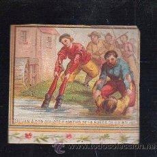 Paquetes de tabaco: MARQUILLA.VISTA.BOFETON DE TABACO SIGLO XIX 1865 CUBA. Lote 39122225