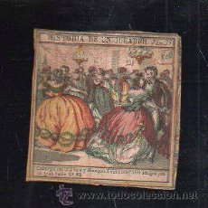 Paquetes de tabaco: MARQUILLA.VISTA.BOFETON DE TABACO SIGLO XIX 1865 CUBA. Lote 39122579