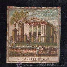 Paquetes de tabaco: MARQUILLA.VISTA.BOFETON DE TABACO SIGLO XIX 1865 CUBA. Lote 39122595
