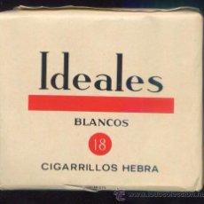Paquetes de tabaco: PAQUETE TABACO *IDEALES BLANCOS* - LLENO, SIN ABRIR. Lote 41411632