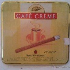 Paquetes de tabaco: CAFÉ CRÈME HOLLAND . Lote 39815321