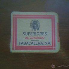 Paquetes de tabaco: PAQUETE DE TABACO AÑOS 40/50. Lote 40424239